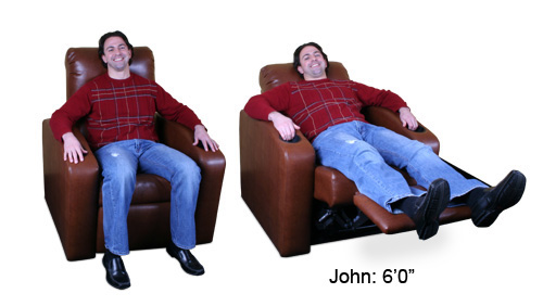 Custom home Theater Chair Demo