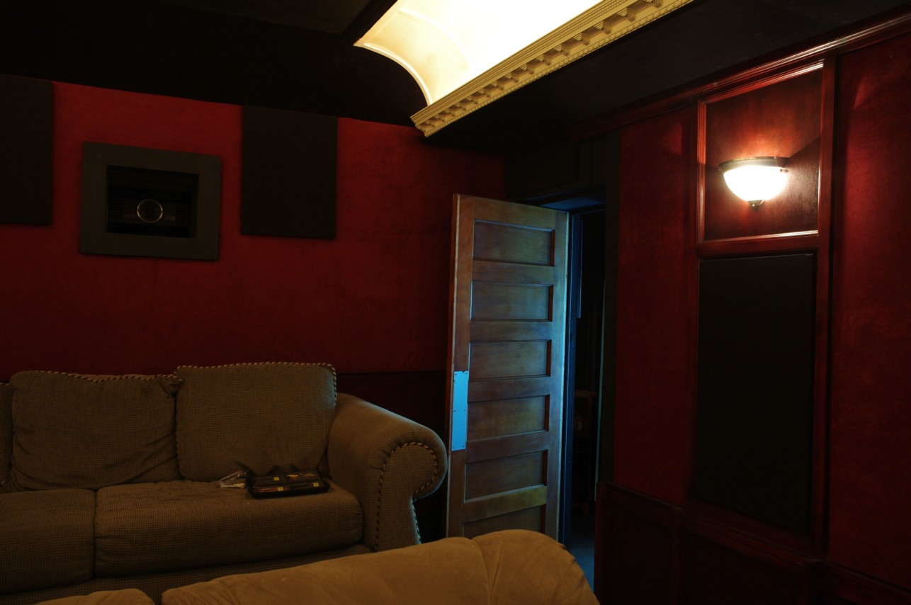 custom maine home theater design and install. Black Bedroom Furniture Sets. Home Design Ideas